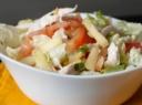 Gurmaniškos vištienos salotos