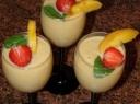 Skanus persikų kokteilis