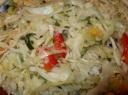 Švežių kopūstų salotos