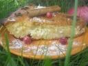 Obuolių pyragas su varške ir cinamonu