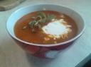 Skani pomidorų sriuba
