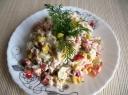 Ryžių salotos su daržovėmis