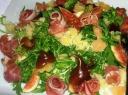 Gražgarsčių salotos su figomis