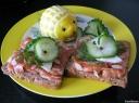 Sumuštiniai su lašiša ir citrina