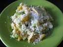 Kokosinės vaisių salotos