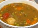 Jautienos sriuba su daržovėmis