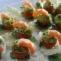 Vyšninių pomidorų užkandėlė su avokadu ir krevetėmis