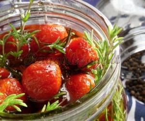 Prancūziški karamelizuoti pomidorai
