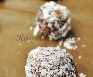 Riešutų ir datulių skanieji saldainiukai