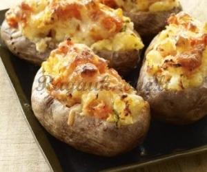 Bulvės su įdaru