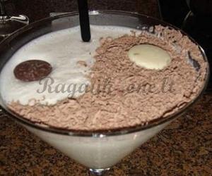 Šokoladinio pudingo gėrimas