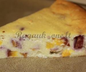 Giedrės varškės apkepas – pyragas