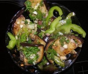 Pikantiški baklažanai