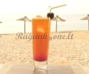 """Kokteilis """"A Sex On The Beach"""""""