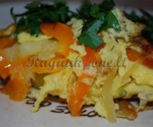 Paprasta ir skani kiaušinienė