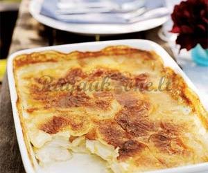 Gurmaniškas bulvių pyragas