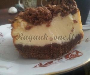 Paprastas kakavos ir varškės pyragas