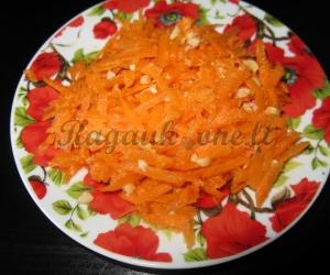 Mėgstamiausios morkų salotos