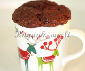 Šokoladinis pyragaitis mikrobangėje