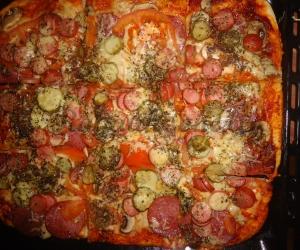 Naminė storapadė pica