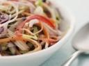 Medaus, garstyčių ir acto padažas salotoms