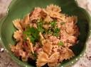 Salotos su makaronais ir žuvimi
