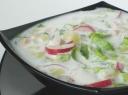 Šalta sriuba su vaisiais