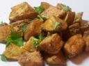 Keptos bulvės su garstyčių padažu