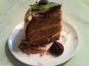 Šventinis šokoladinis tortas