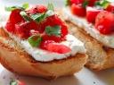 Sumuštinis su varškės sūriu ir pomidorais