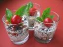 Šaltos pomidoriukų salotos su ikrais