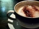 Kava su pienu ir imbieru