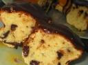 Apelsinų pyragas su šokoladu