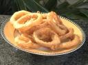 Kepti svogūnų žiedai