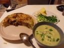 Svogūnų ir cukinijos sriuba