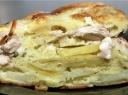 Vištienos pyragas su bulvėmis