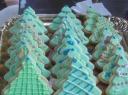 Lauros sausainiai – eglutės