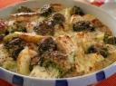 Kepta lašiša su bulvėmis ir brokoliais