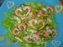 Valentino dienos salotos