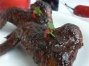 Vištienos sparneliai su šokoladu ir mėta