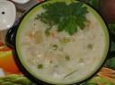 Pieniška sriuba su daržovėmis