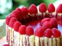 Prancūziškas aviečių tortas