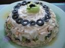 Sluoksniuotos salotos su veršiena