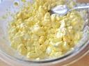Pikantiškos kiaušinių salotos