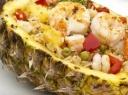 Gurmaniškos ryžių ir krevečių salotos