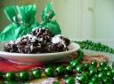 Šokoladiniai sausainiai su saulėgrąžomis