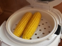 Kukurūzų burbuolės garuose