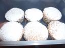 Spanguolių keksiukai
