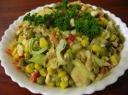Sočios salotos su vištiena