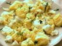 Virtų bulvių kukulaičiai su gorgoncolos sūriu